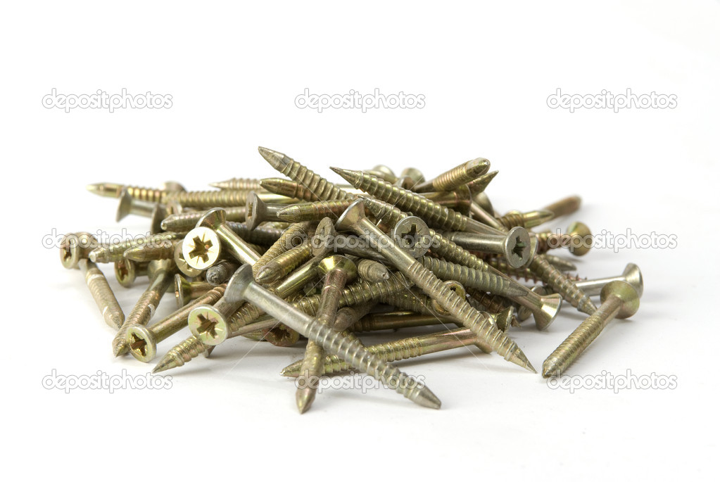 Heap of screws — Stock Photo #1140885