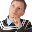 Young handsome man thinking — Stock Photo