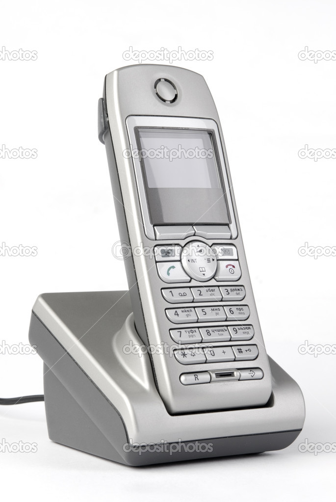 Wireless phone — Stock Photo #1532345