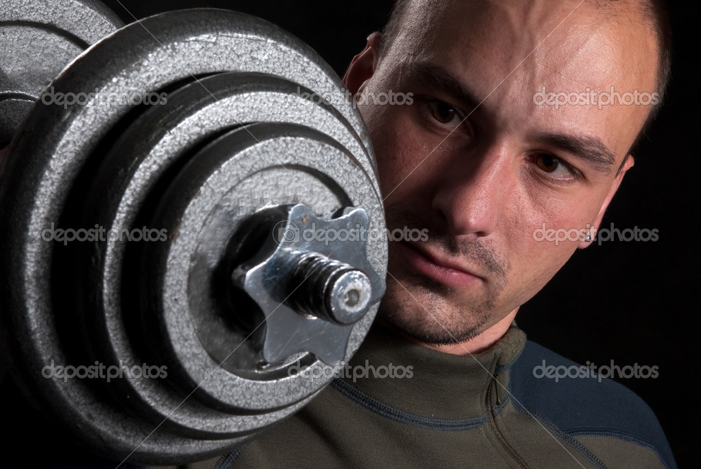 Male bodybuilder — Stock Photo #1533983