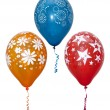 Group of colorful balloons — Stock Photo