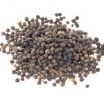 Black peppercorns — Stock Photo