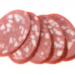 Sausage slices — Stockfoto