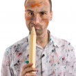 Mad painter — Stock Photo #1585937