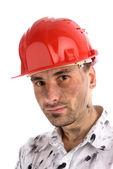 年轻的生成器或煤矿工人 — 图库照片