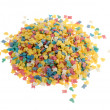 Heap of colorful sweets — Stock Photo