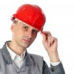 ernstige ingenieur — Stockfoto