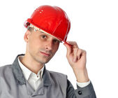 Serious engineer — Stock Photo