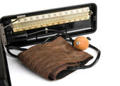 Retro sphygmomanometer — Stock Photo