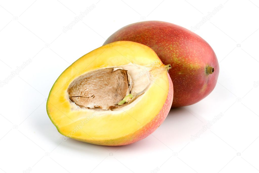 Mango isolated on a white background — Stock Photo #1873941