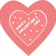 Royalty-Free Stock Imagen vectorial: Valentine\'s Day card