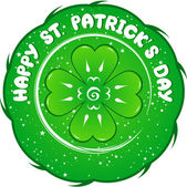 St. el día de patrick — Vector de stock