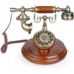 Old vintage phone — Stock Photo