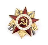 World War II Russian military medal — Stock Photo