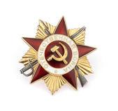 World War II Russian military medal — Stock Photo