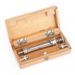 Old syringe in a case — Stock Photo #2556353