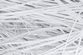Paper strips from a shredder — Stock Photo