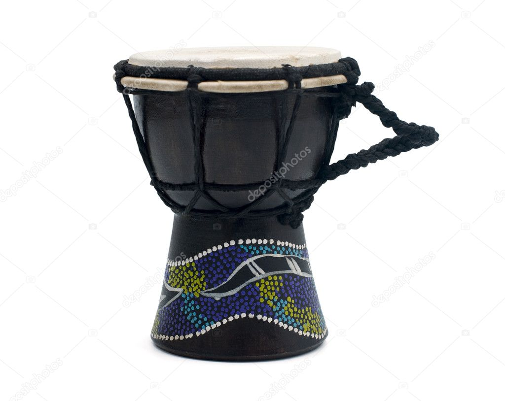 Traditional hand drum   Stock Photo #1128492