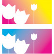 Royalty-Free Stock Vector Image: Greeting card flower