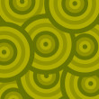 Royalty-Free Stock Vector Image: Pattern circle green