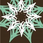 grußkarte weihnachten 1 — Stockvektor