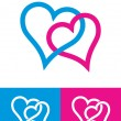 Heart signs — Stock Vector
