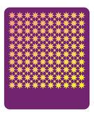 Padrão decorativo estrela 2 — Vetor de Stock