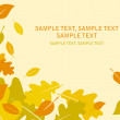 Royalty-Free Stock Vector Image: Vector autumn leaves 1
