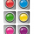 Royalty-Free Stock Vektorfiler: Vector buttons