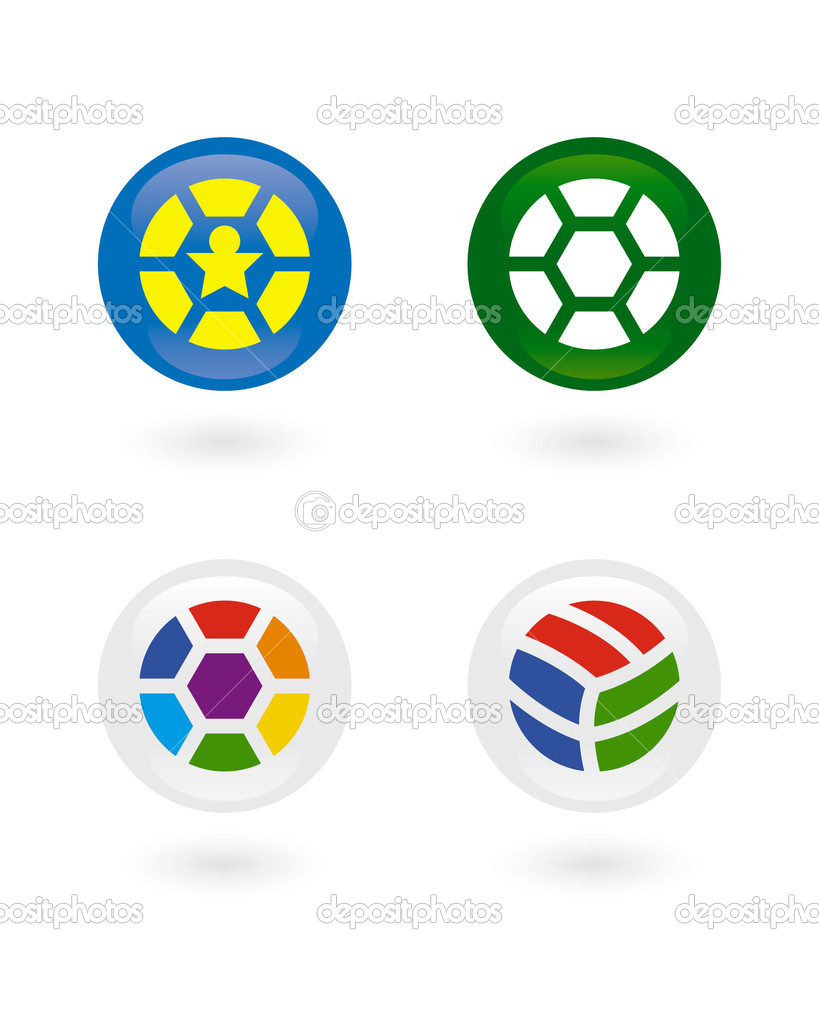 Vector football — Stock Vector #1208516