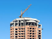 Homes under construction 1 — Stock Photo