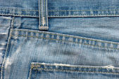 Modré džíny textura — Stock fotografie