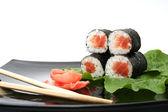 Japanese roll — Stock Photo