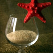 Stock Photo: Secocktail with star