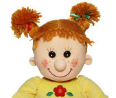 Red head funny doll — Stock Photo