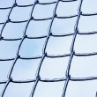 Lattice in the ice — Stock Photo