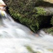 Stones In The Stream - Stock Photo