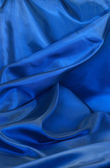 Blue Cloth Textured — Stock Photo