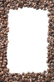 Кофе в зернах кадр — Стоковое фото