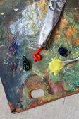 Artist Palette — 图库照片