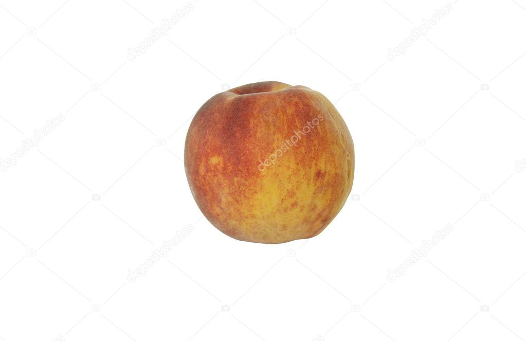 Peach isolated on white background  Stock Photo #1179116