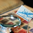 Royalty-Free Stock Photo: Postage Stamp Collection
