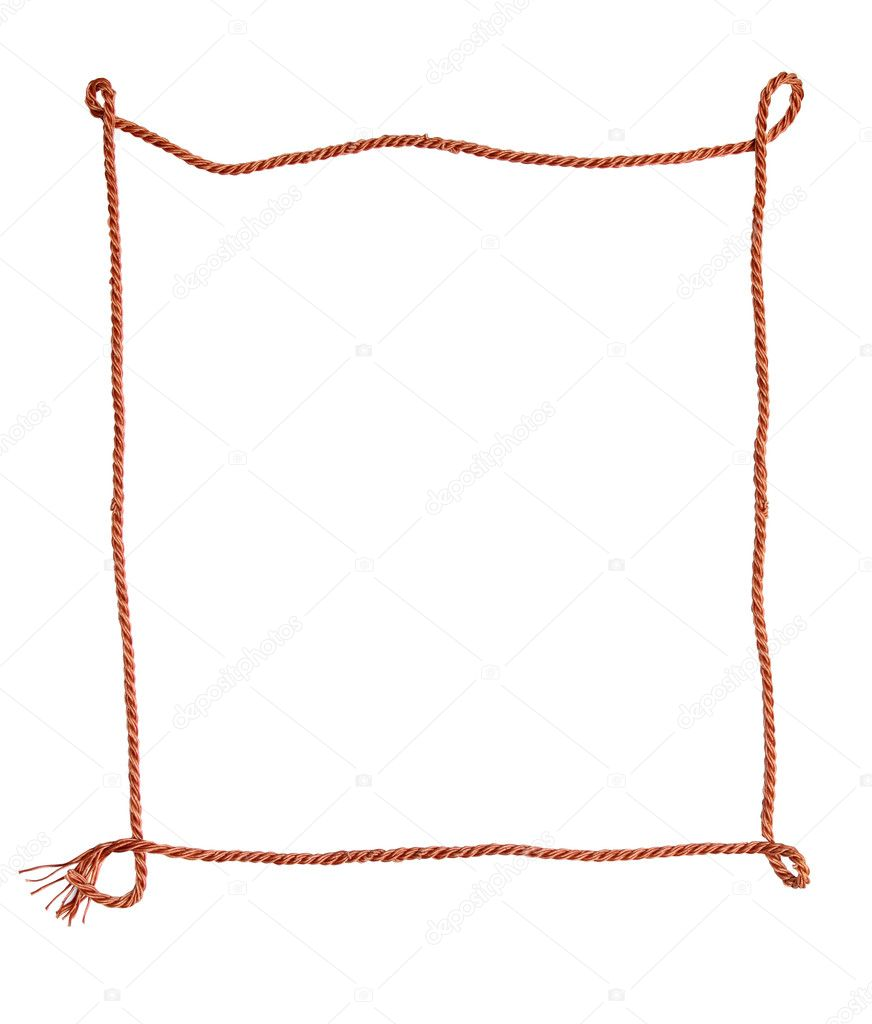 Rope frame stock photo kvkirillov 1180761 Rope photo frame