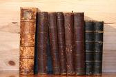 Old Bookshelf — Stock Photo