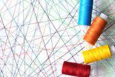 Colored Threads — ストック写真
