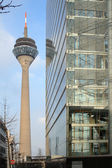 Dusseldorf Radio Tower — Stock Photo