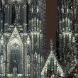 Cologne Cathedral In The Night — Lizenzfreies Foto
