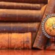 Stock Photo: Old Books And Globe