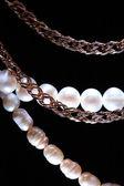 Jewelry On Dark — Стоковое фото