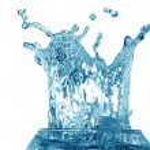 Splashing Water — Stock Photo